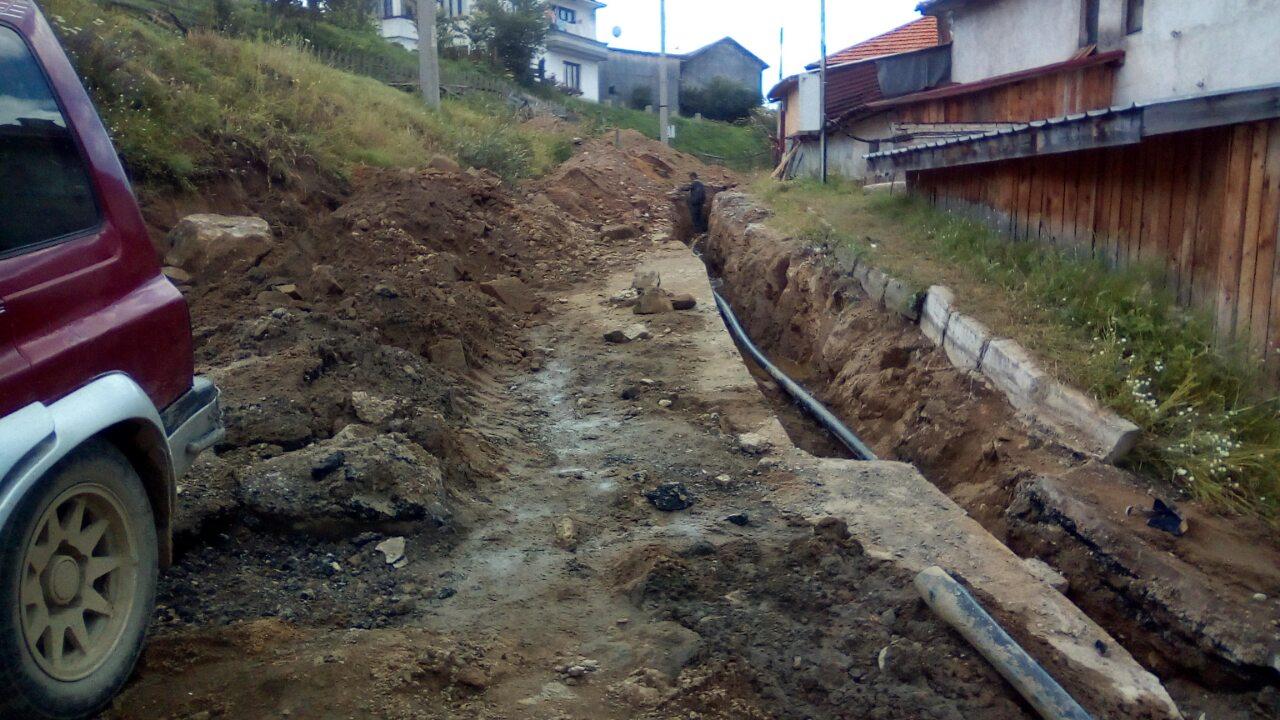 Започна подмяната на водопроводи в село Змеица … СНИМКИ