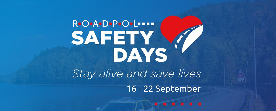 """На 16 септември 2020 г. стартира Операция """"Дни на безопасността на пътя"""" (ROADPOL SAFETY DAYS)"""